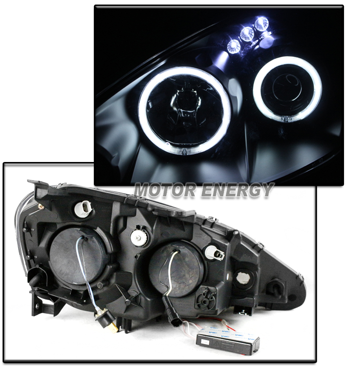FOR 05-06 ACURA RSX CCFL HALO LED BLACK PROJECTOR
