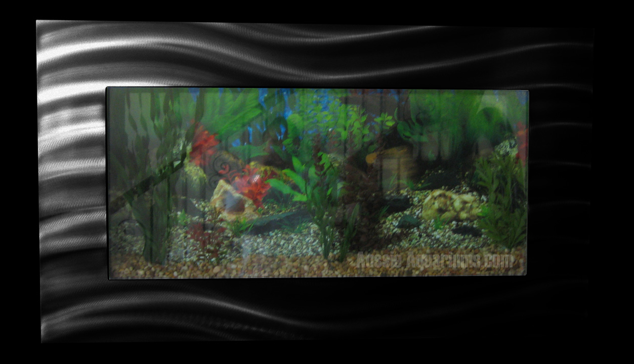 New Aussie Aquarium Standard Wall Mounted Fish Tank