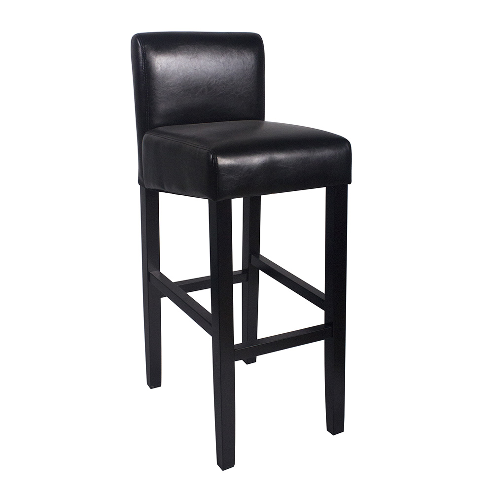 New Wood Leather Barstool 32 Quot Bar Counter Stool