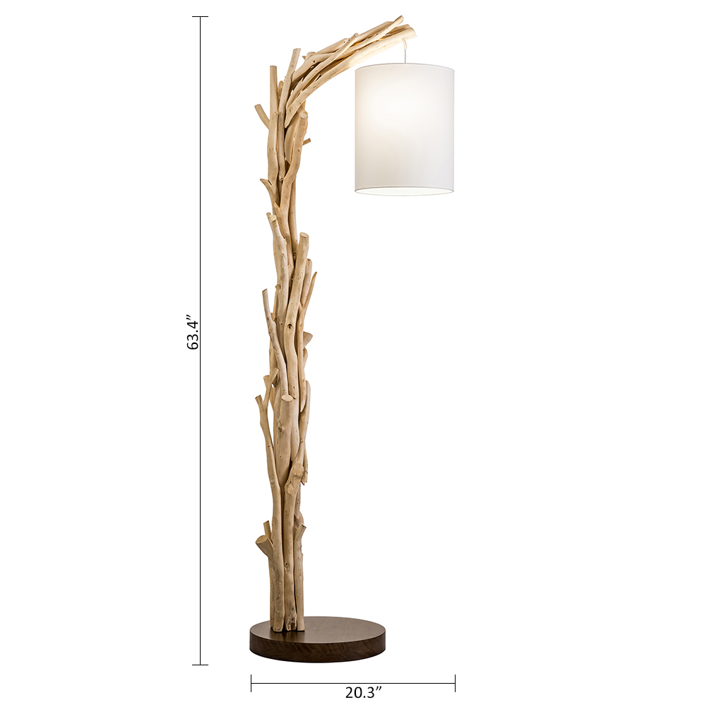 Drift wood artisan Style Slice room  Lamp Last One !!!!