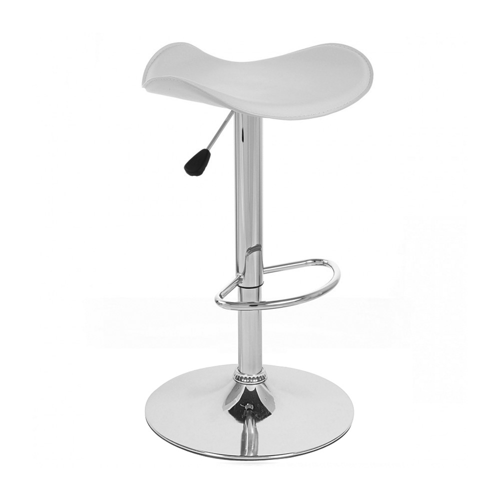 Modern Quot Leather Quot Barstool Adjustable Swivel Adjusting