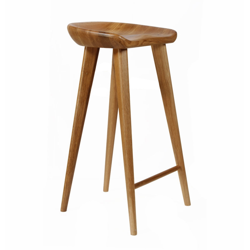 New Carved Wood Barstool 30 Quot Contemporary Bar Counter