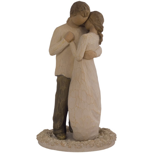 willow tree promise wedding cake topper willow tree demdaco promise cake topper 26189 ebay 27490