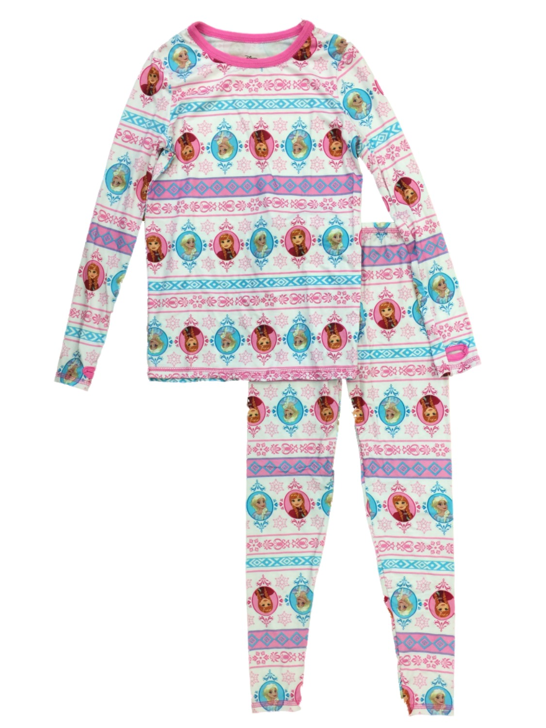 Cuddl Duds Chill Chasers Disney Frozen Olaf Toddler Boys Long Underwear 5T