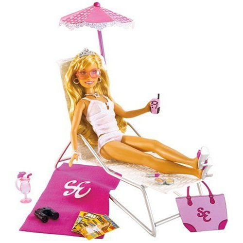 High School Musical Sharpay Doll Summer Poolside Lounge