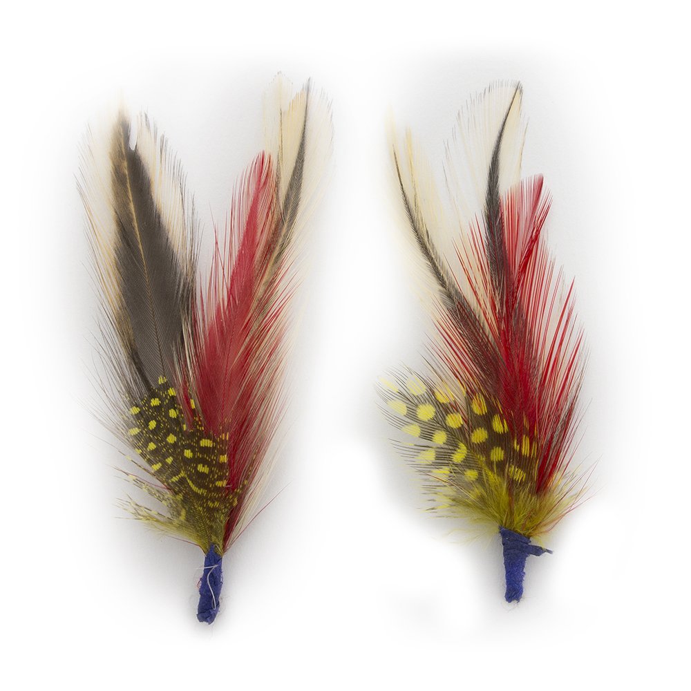 """ULTRAFINO Bird Feathers 3"""" Quality Exotic Hats Bridal ..."""