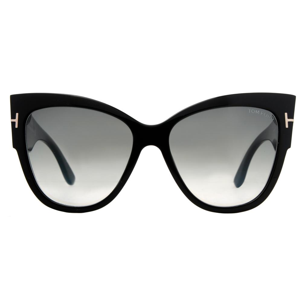 e853a21c657 Tom Ford Anoushka TF371 01B Black Gray Gradient Women  39 s Cat-Eye