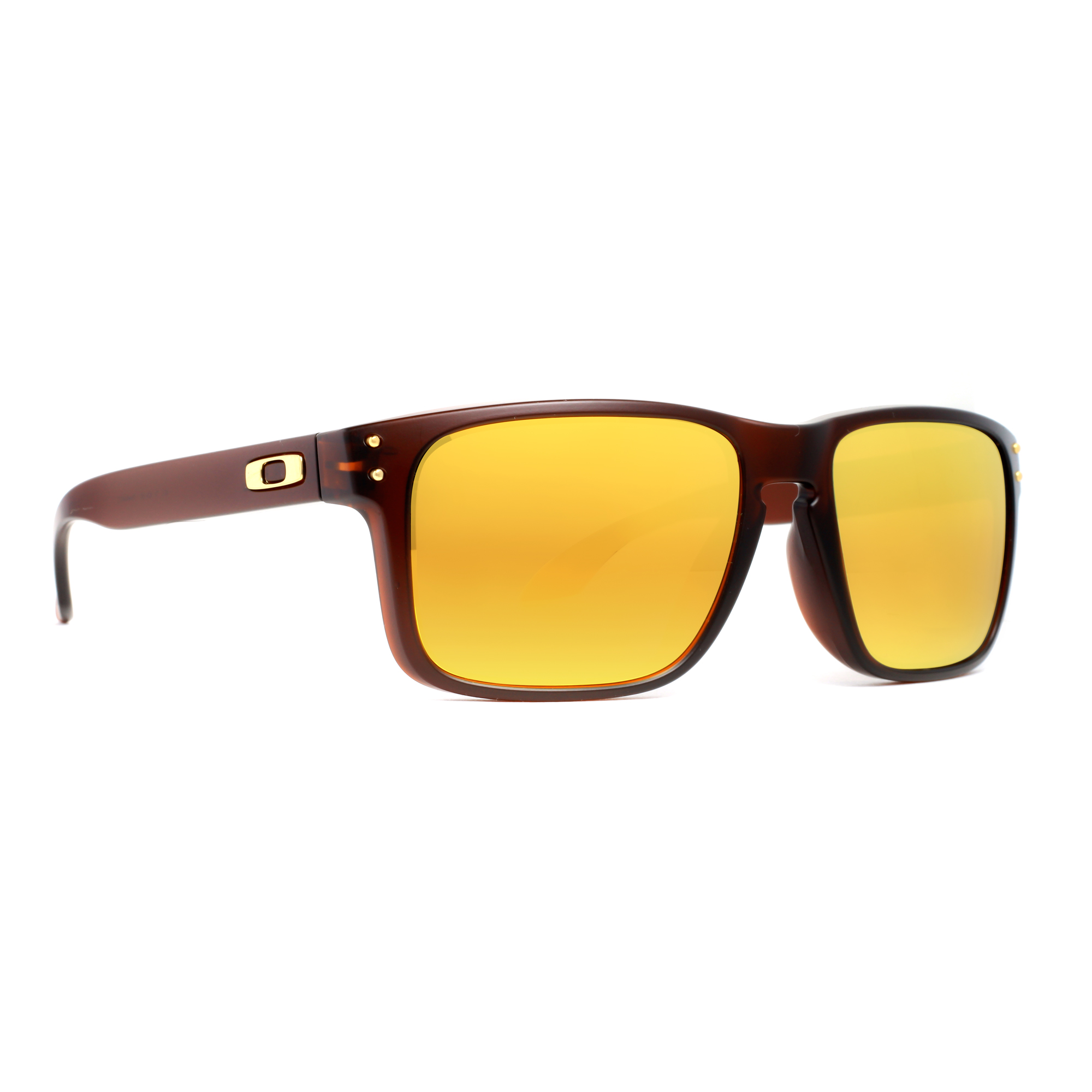 7d9066d000 Oakley Holbrook Brown 24k Iridium
