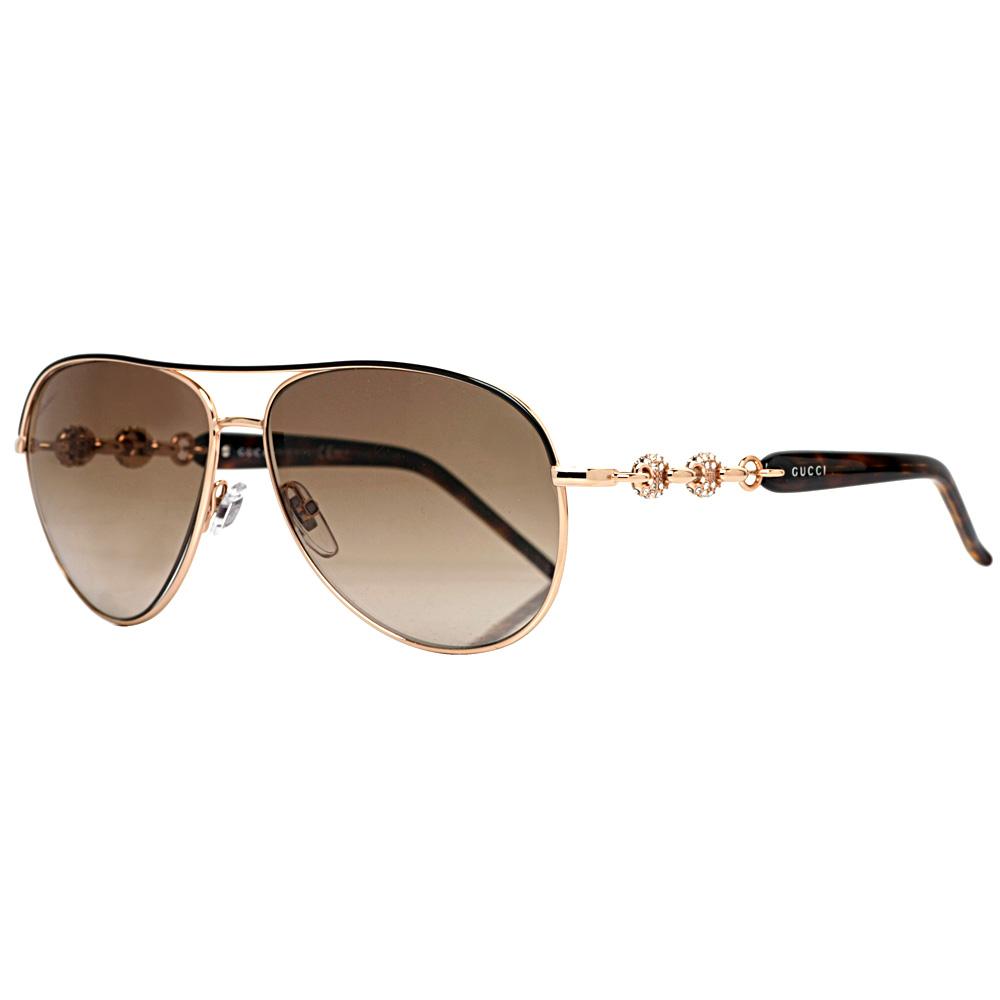 85c2fb368e2 Gucci Aviator Sunglasses With Crystals « Heritage Malta