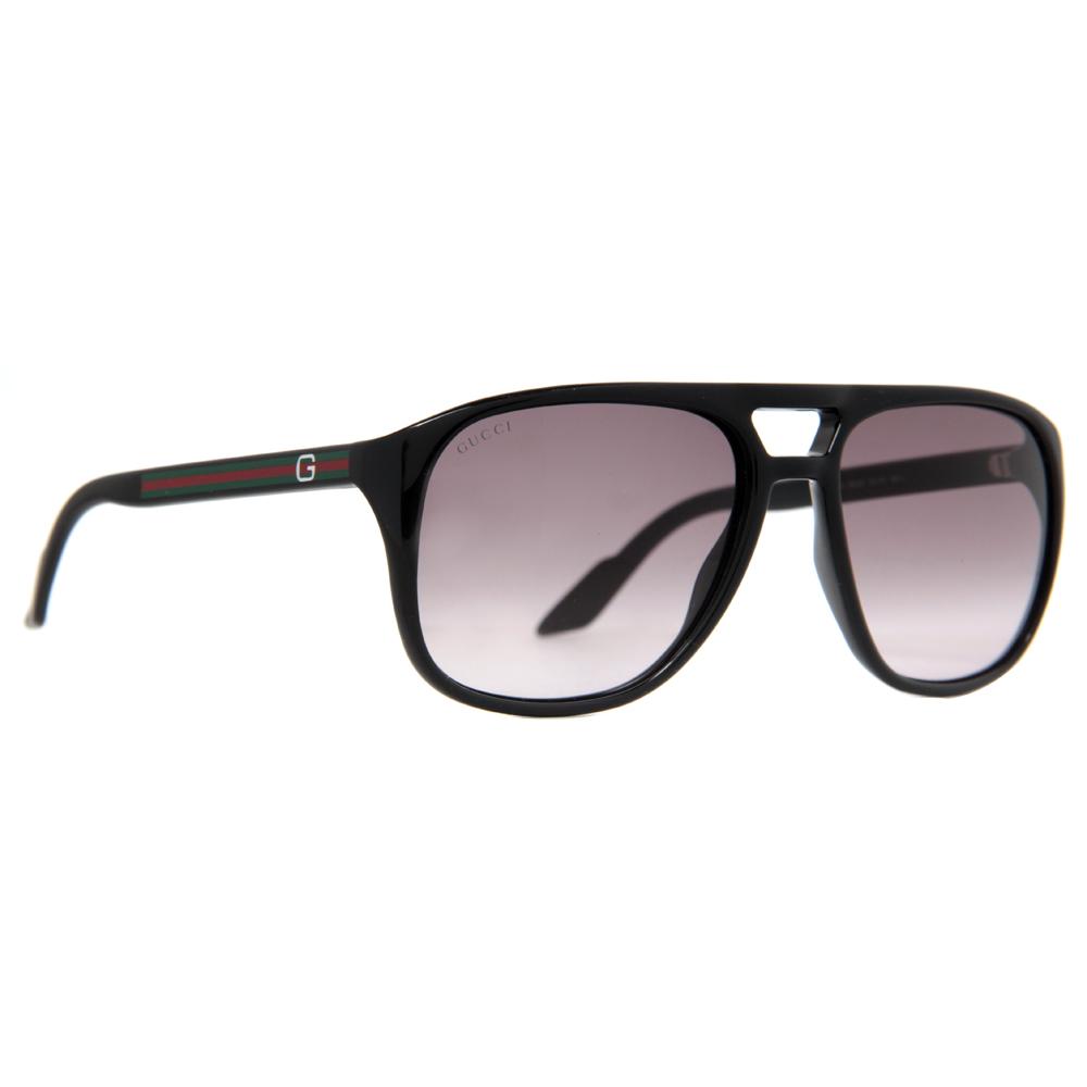Gucci GG 1018/S Men's Gradient Aviator Sunglasses- Havana ...