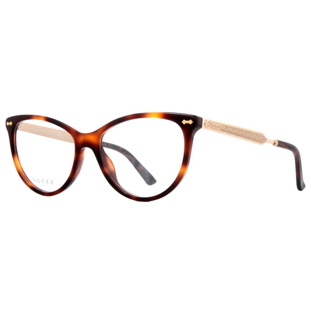 d5aa6b4f370 Gucci Havana Eyeglasses Women