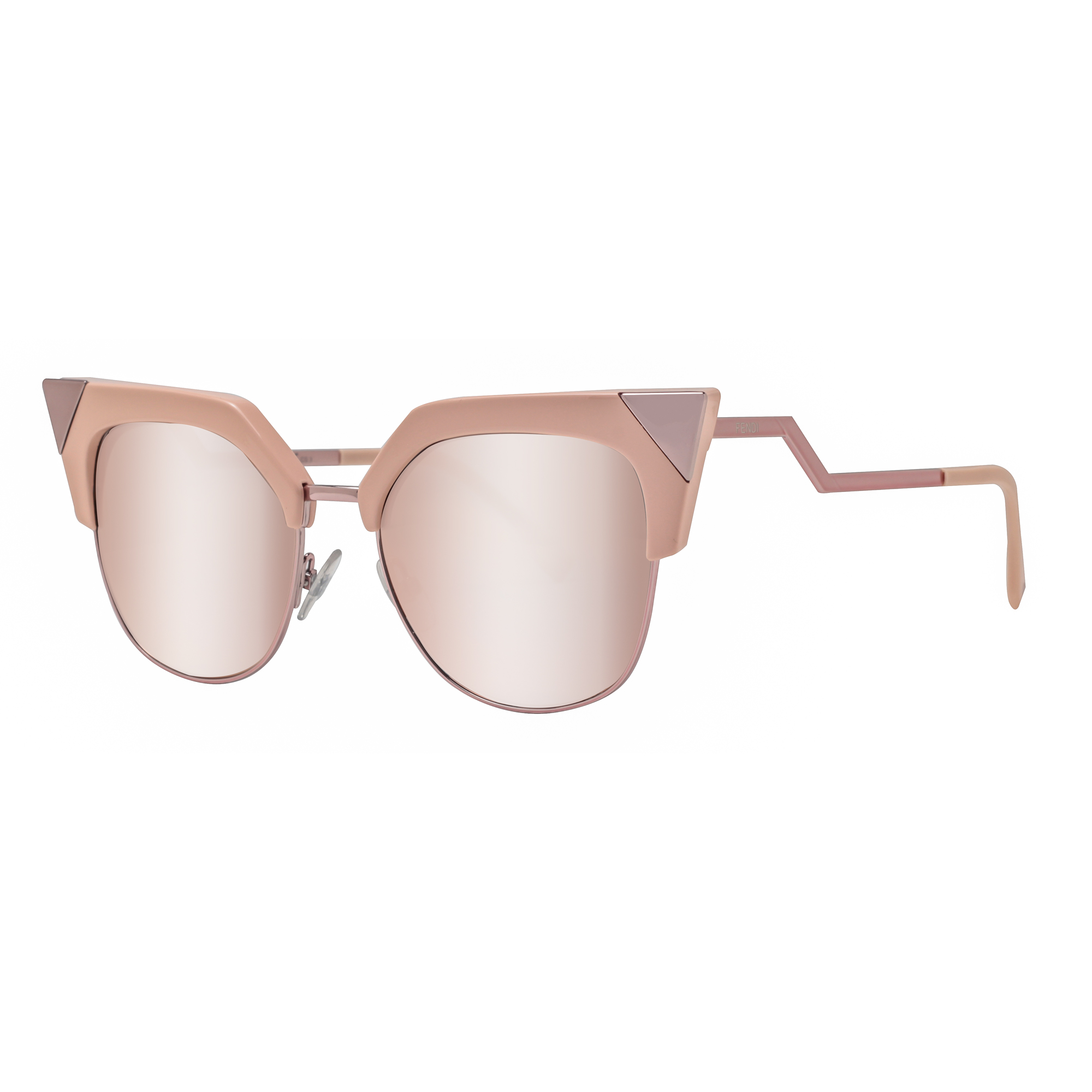 Womens FF 0060/S MV Cateye Sunglasses Fendi GF1f46GBpU