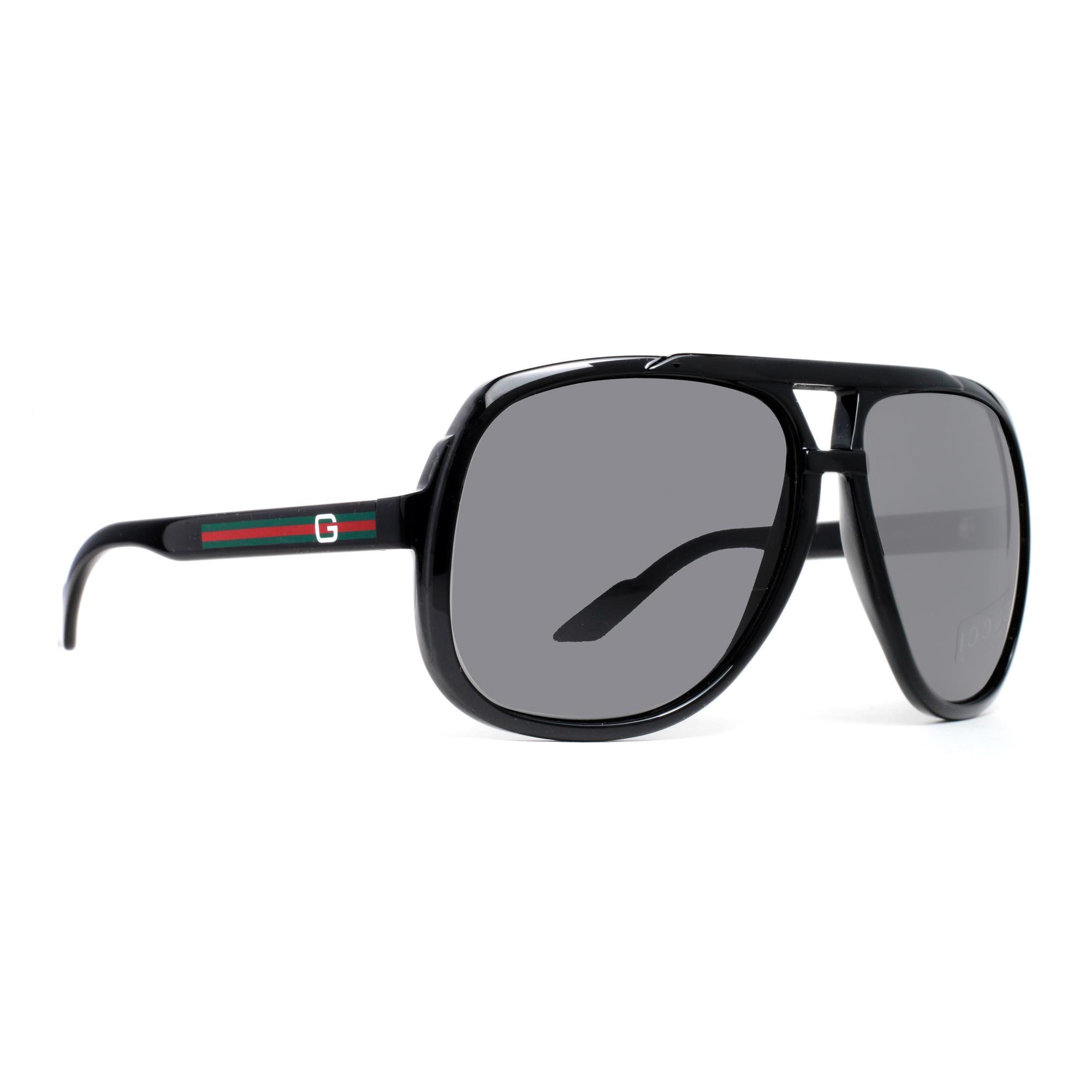 5a81b1bd6da Gucci GG 1622 S Oversized Navigator Sunglasses