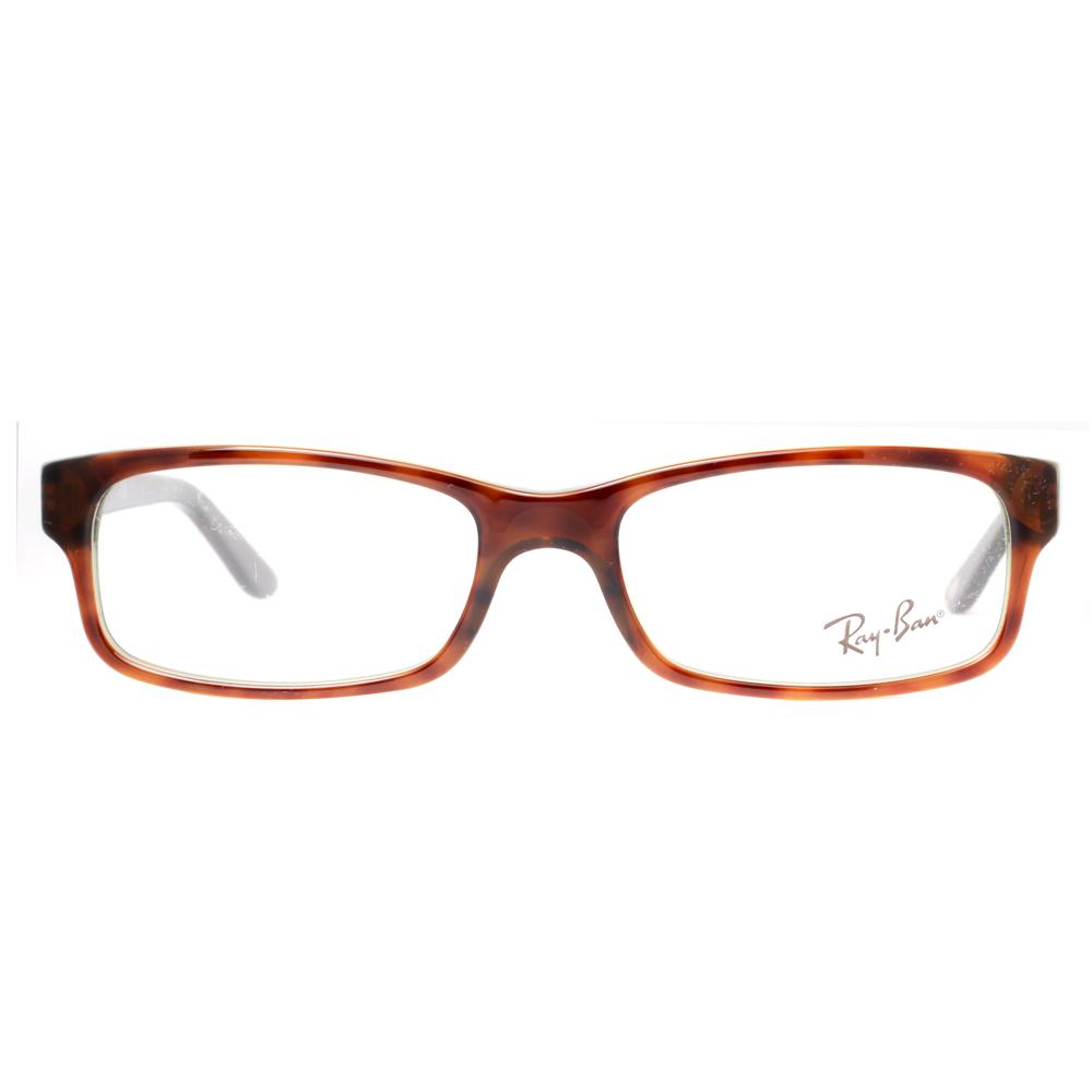 d97738a2f7 Ray Ban RX 5187 2445 50mm Tortoise Brown Green Unisex Eyeglasses