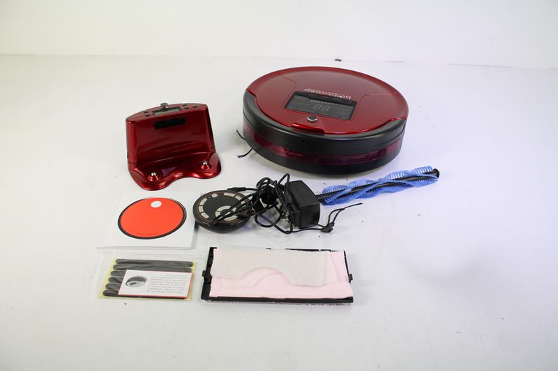 Bobsweep Pethair Robotic Vacuum Cleaner And Mop Great For