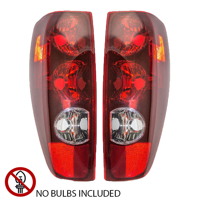 Go-Parts Driver Left for 2004-2012 GMC Canyon Rear Tail Light Lamp Assembly // Lens // Cover 19417444 GM2800164 Replacement 2011 2010 2009 2008 2007 2006 2005