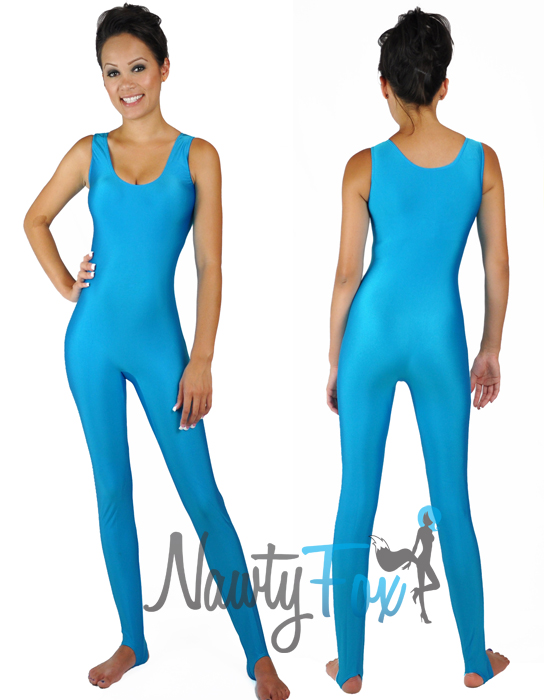 Adult Barbie Workout Turquoise Sleeveless Unitard Bodysuit Costume  sc 1 st  eBay : barbie toy story costume  - Germanpascual.Com