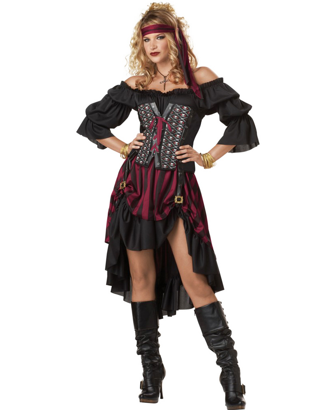 pirate wench pictures steam punk renaissance pirate wench womens sexy halloween 4285