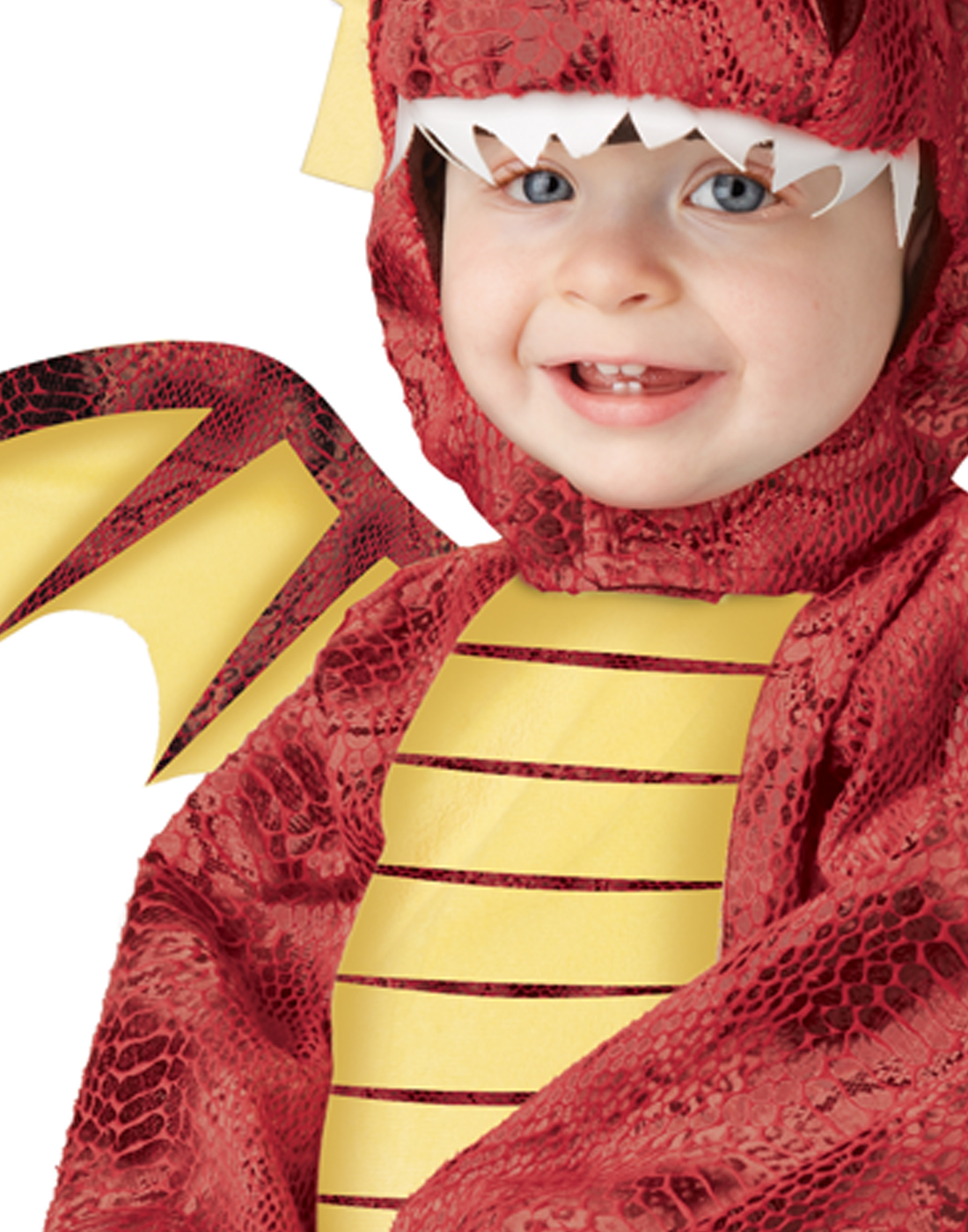 Adorable Red Dragon Mushu Animal Halloween Costume Infant