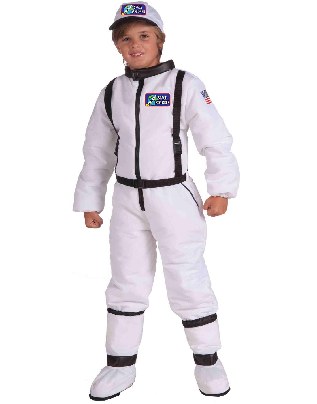 Brand New Astronaut Space Explorer Adult Costume