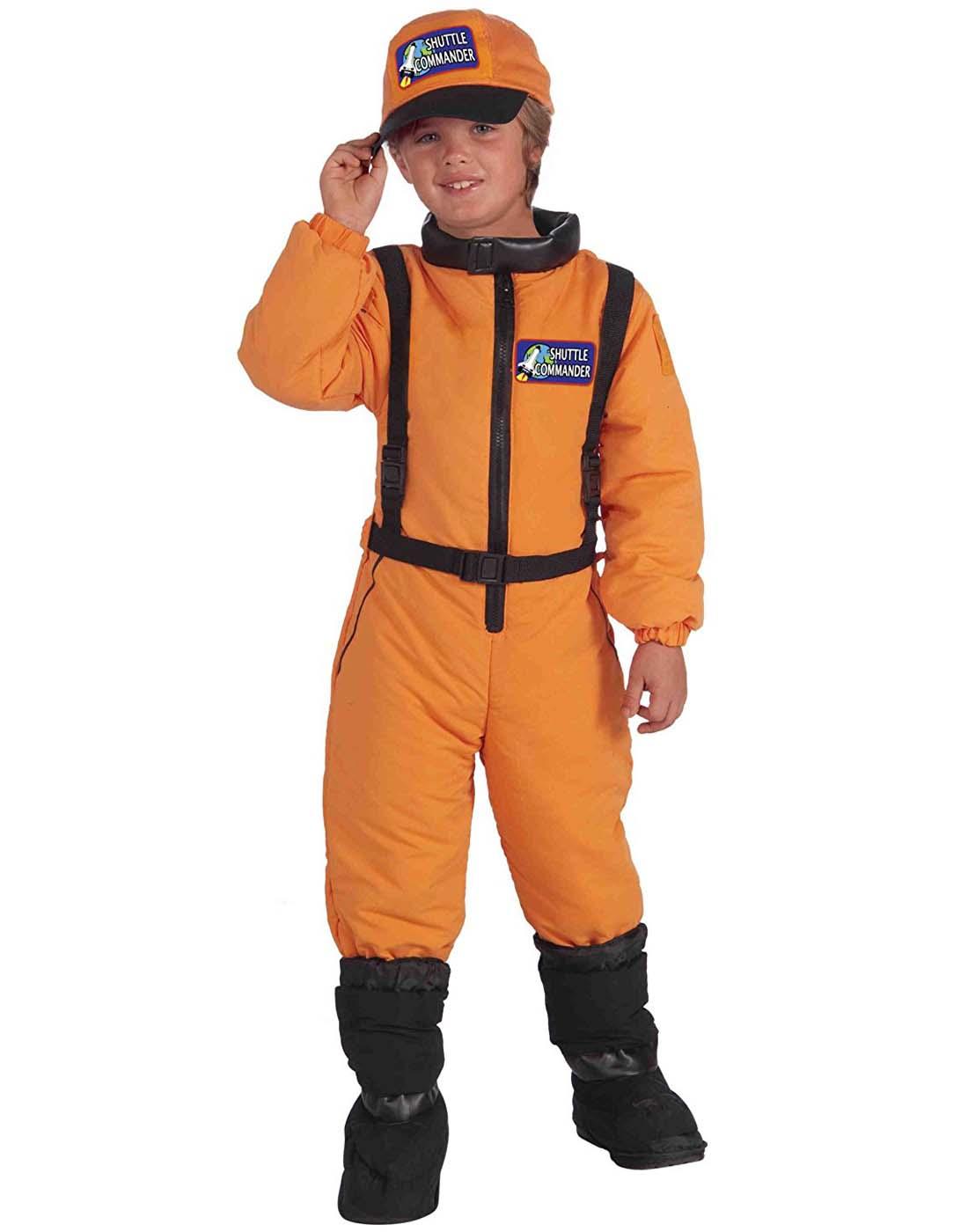 Shuttle Commander Boys Child Space Explorer Astronaut Costume S Ebay