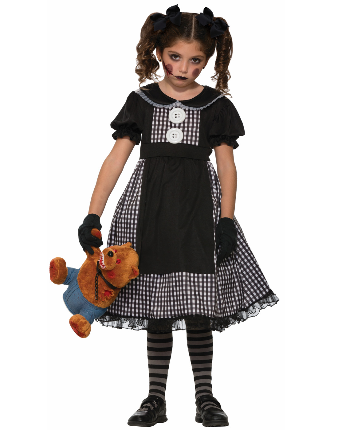 Dark Rag Doll Childu0027s Costume