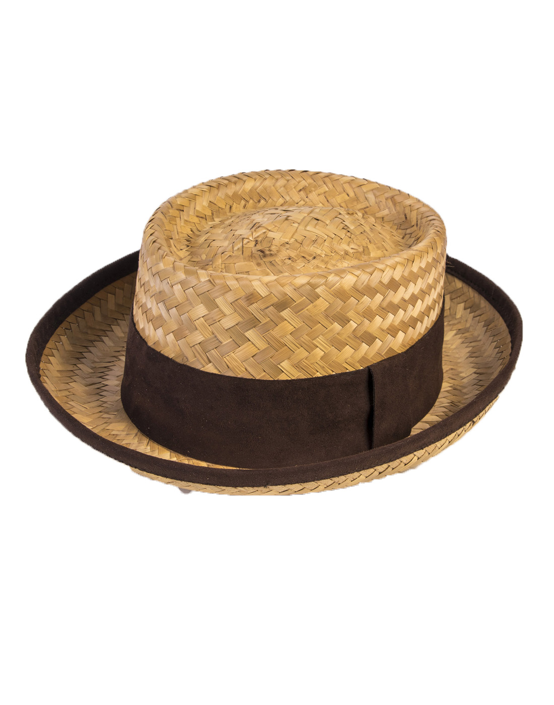 Details about Straw Mens Adult Costume Skimmer Boating Quartet Hat Accessory a40b2505d7b