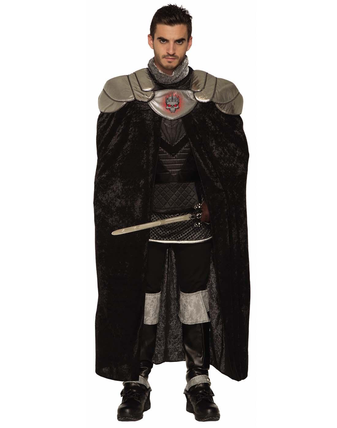 Dark Royalty Black King Crown Costume Accessory