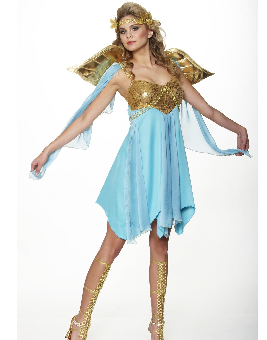 Athena Roman Greek Goddess Toga Princess Fancy Womens ...
