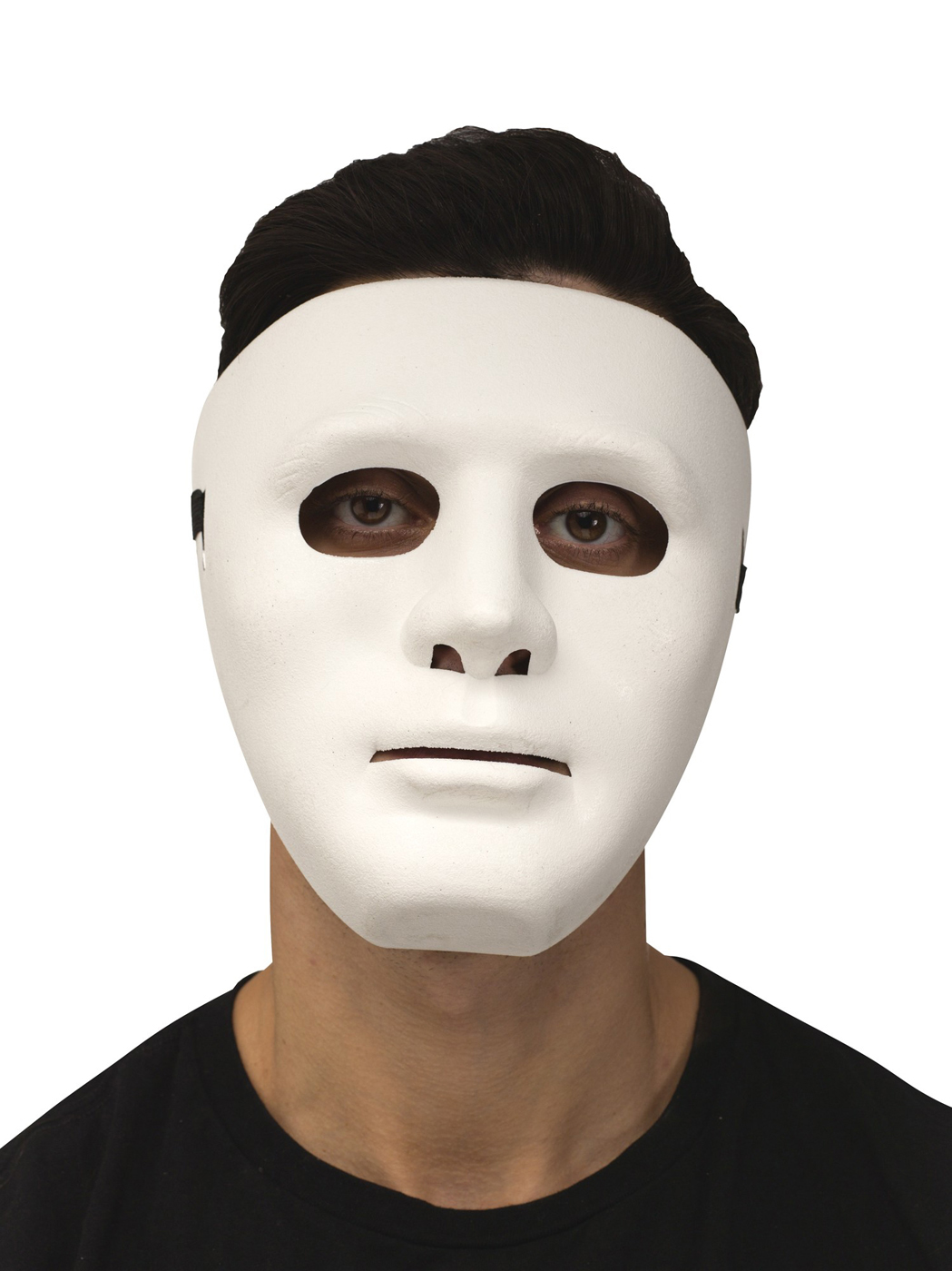 blank face adult plastic purge halloween costume mask | ebay