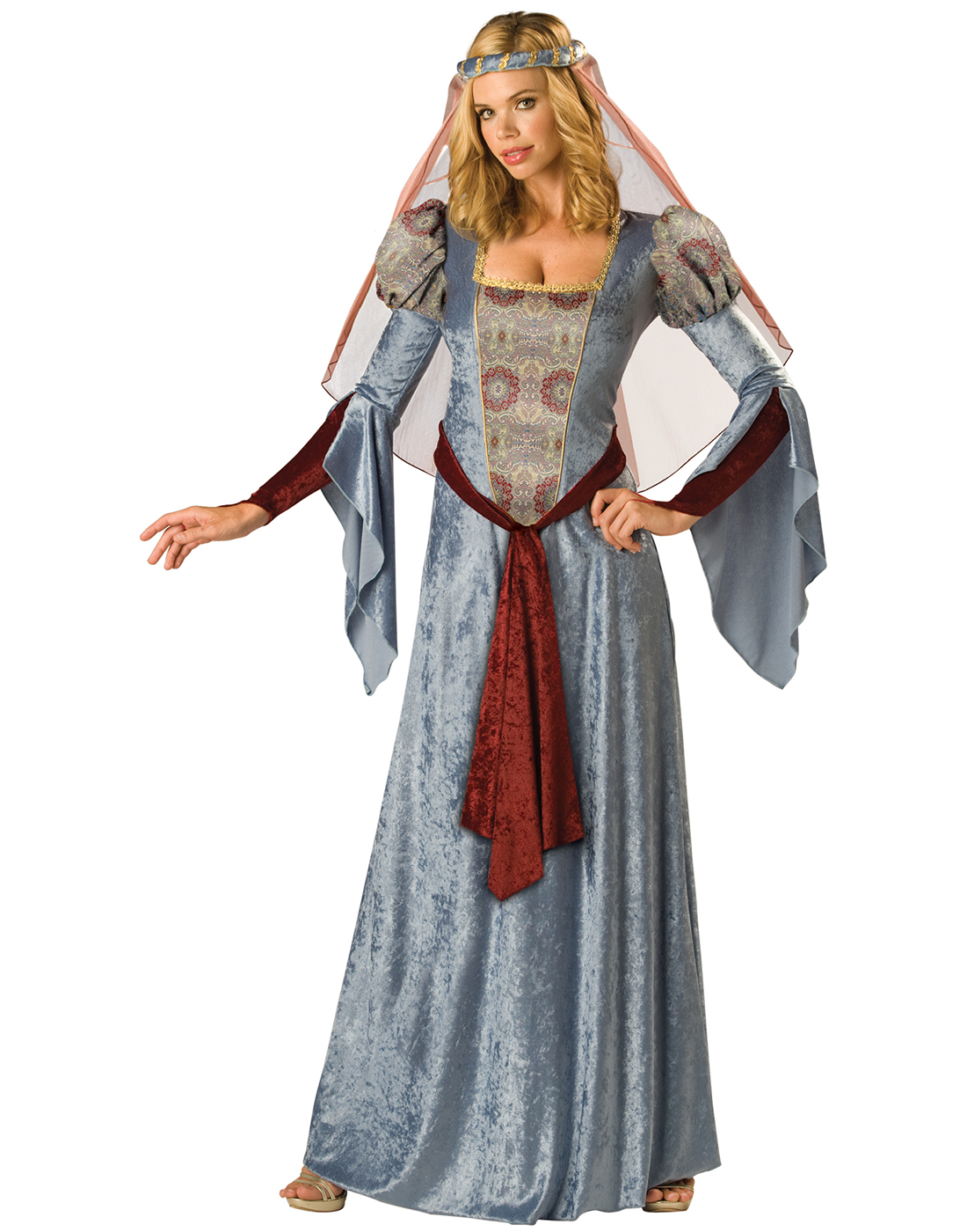 ca795c8543bf3 Maid Marian Renaissance Wench Sexy Medieval Womens Fancy Halloween ...