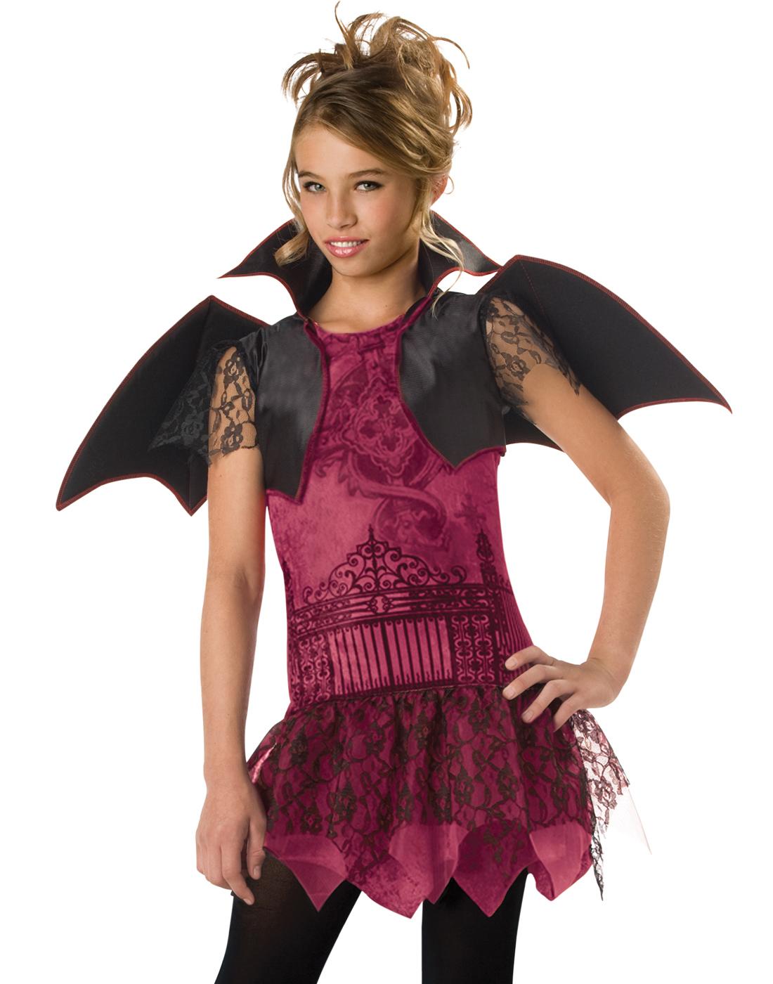 Vampire Witch Twilight Girls Teens Kids Dracula Halloween Costumes