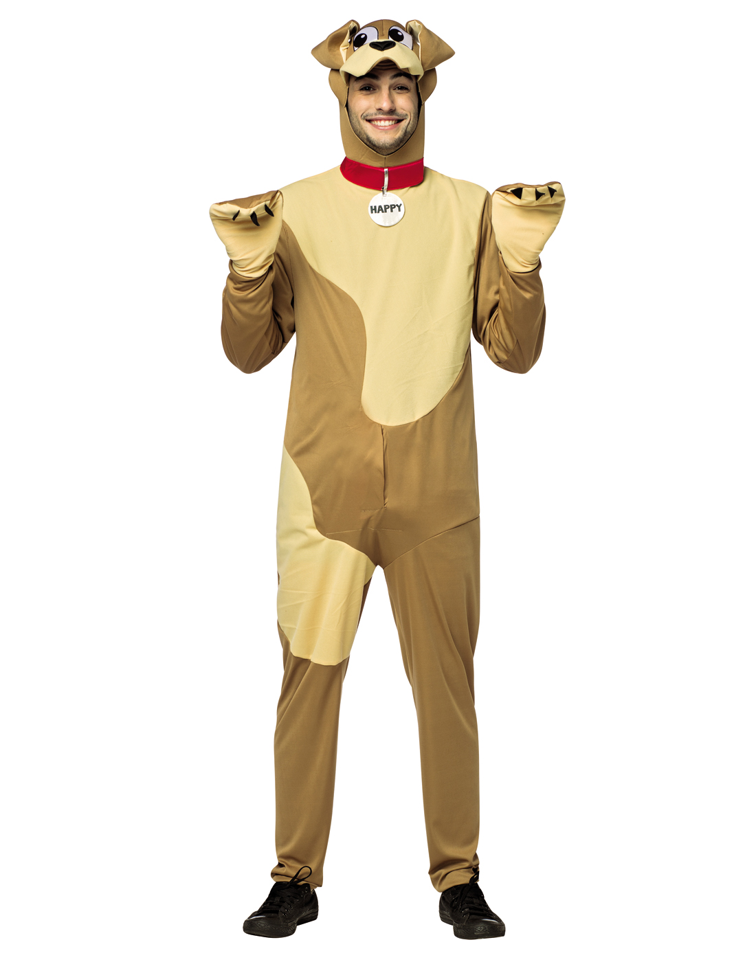 Captivating Details About Happy Dog Mens Adult Funny Male Dog Inappropriate Halloween  Costume Os