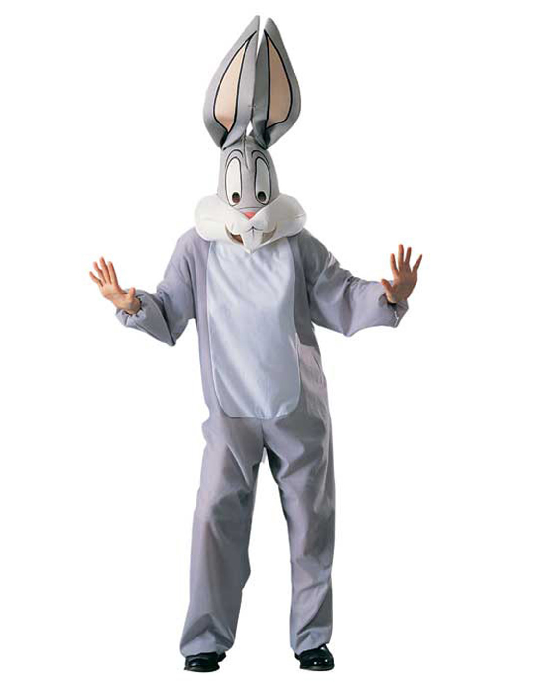 adult looney tunes bugs bunny whats up doc gray halloween costume