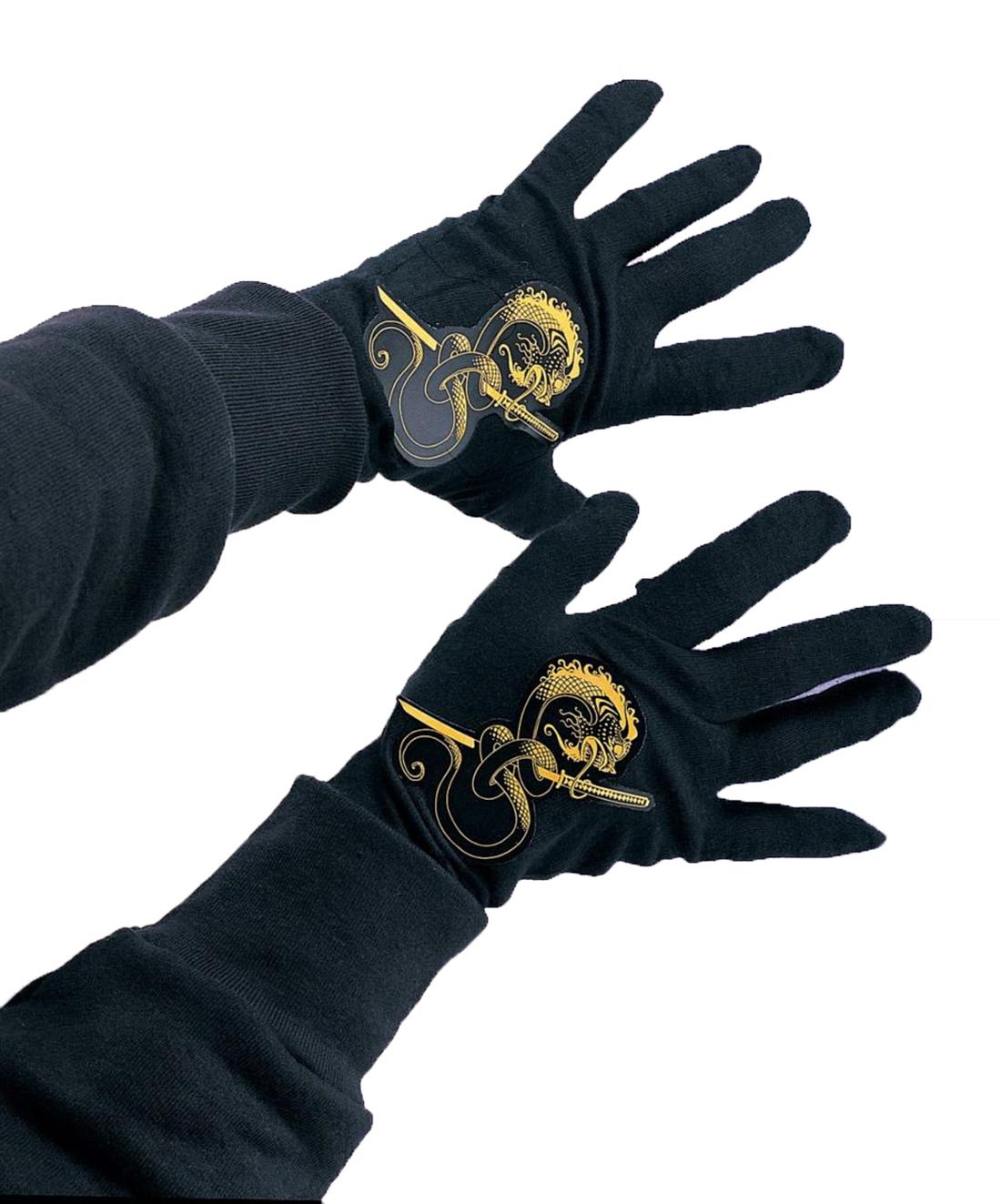 alta qualità buona consistenza 100% di alta qualità Nero Dragon Bambini Guerriero Ninja Accessorio Costume Guanti | eBay
