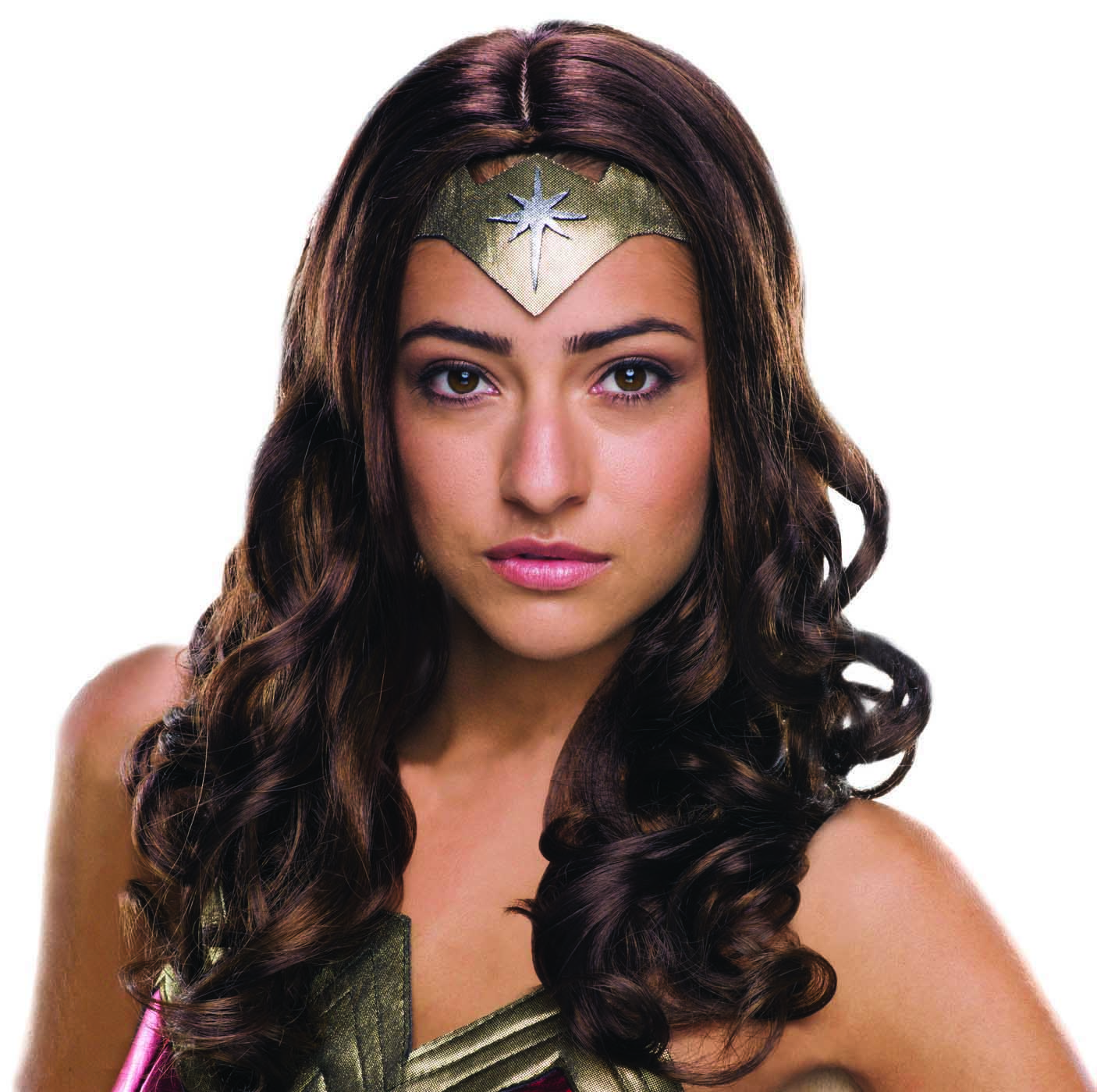 Wonder Woman Costume Wig Adult Womens Wonderwoman DC Comics Justice League