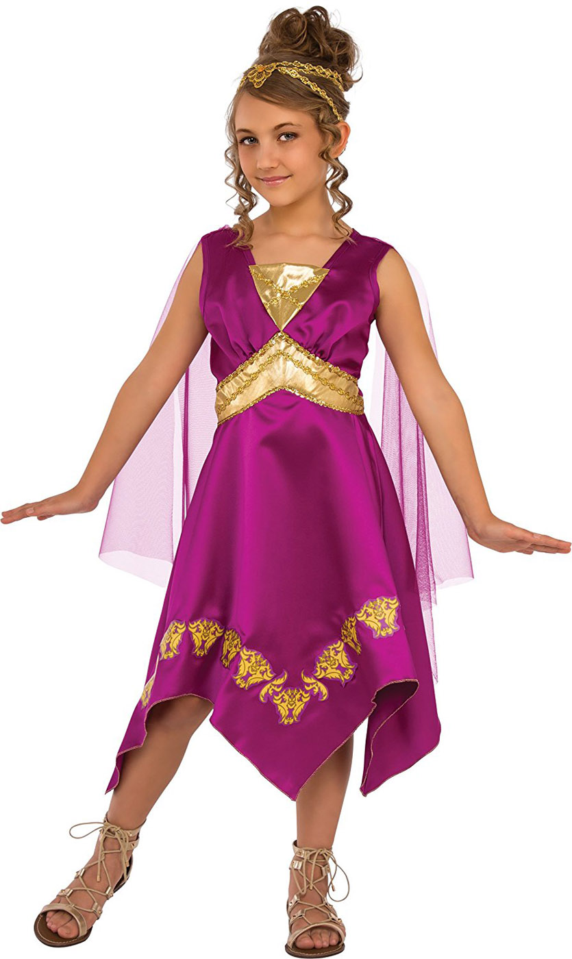 grecian goddess girl greek princess child halloween costume | ebay