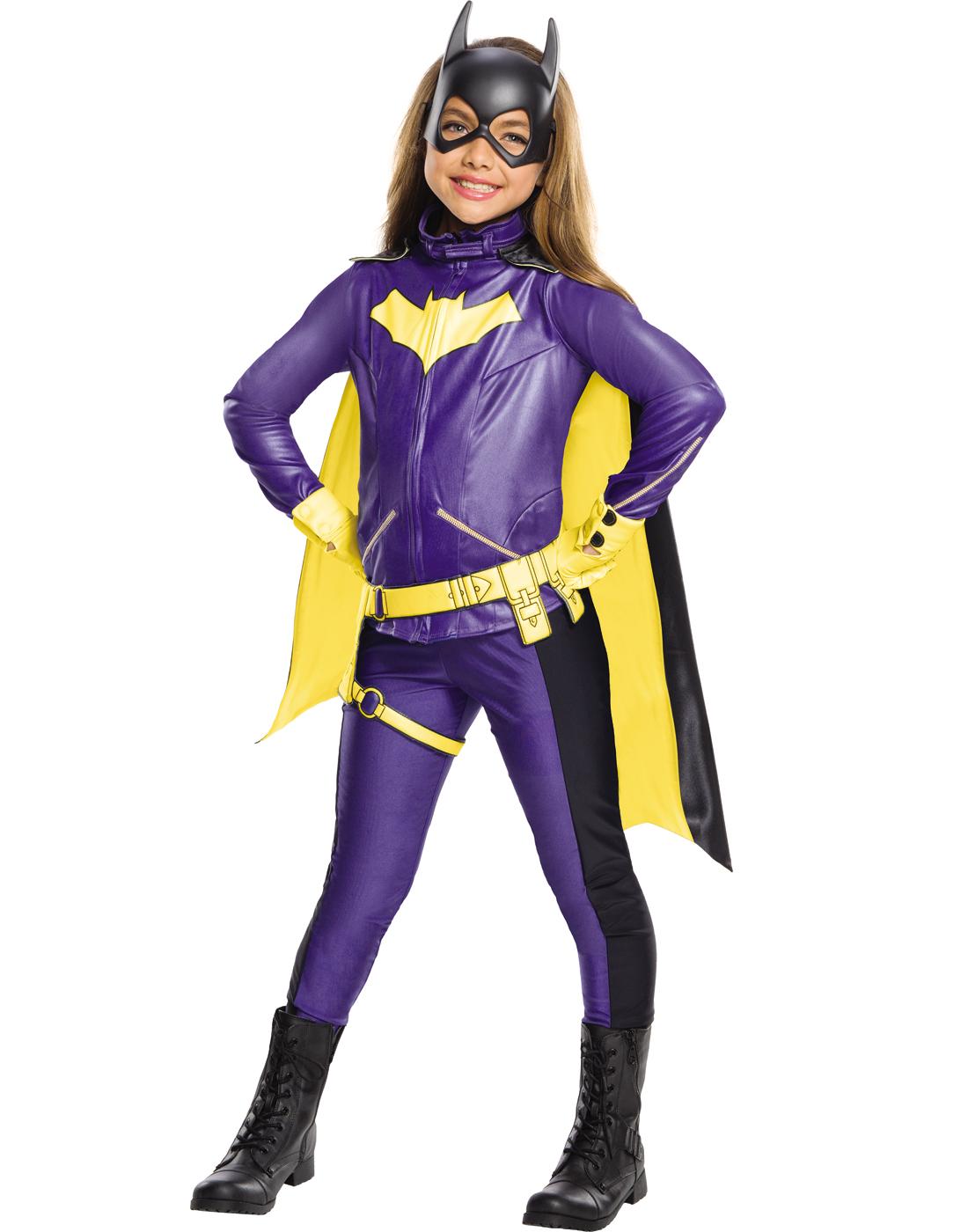 Marvelous Details About Dc Comics Girls Premium Classic Batgirl Superhero Halloween  Costume
