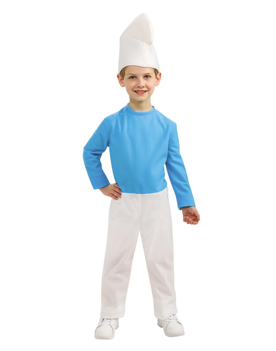 Smurfs The Lost Village Boys Smurf Child Halloween Costume
