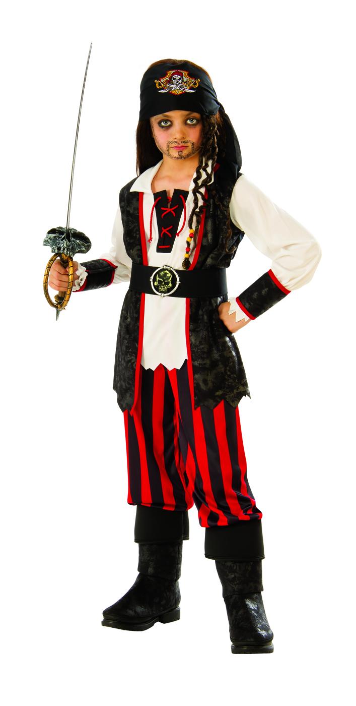 Pirate Boys Child Jack Sparrow Buccaneer Halloween Costume  03e47f65f5a1