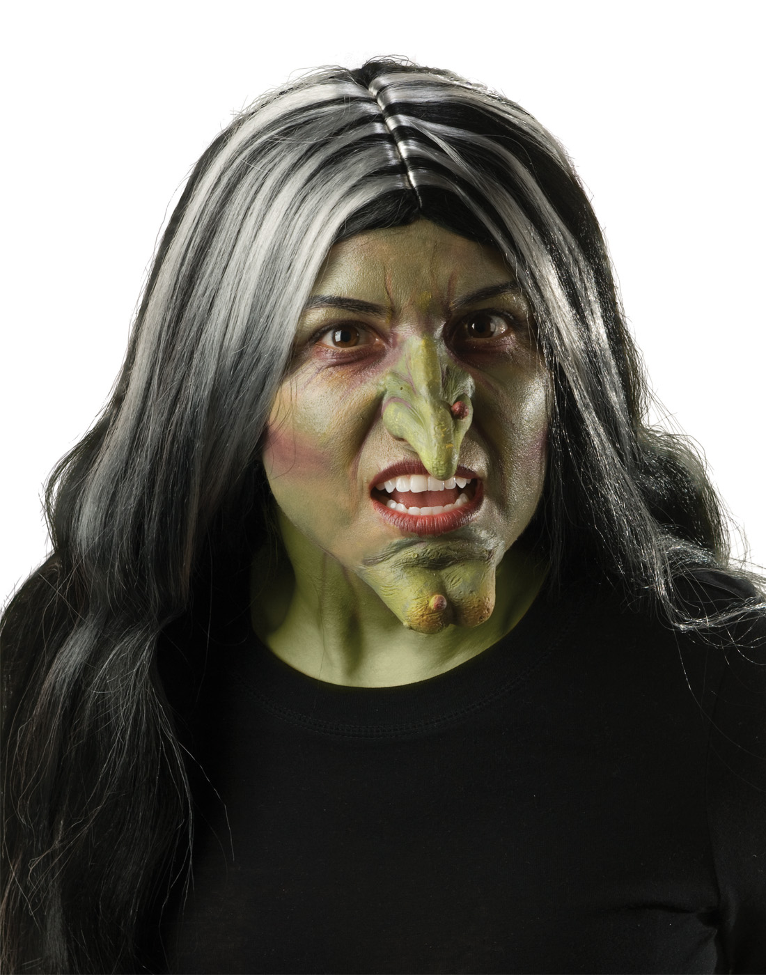 Wicked Witch Nose Green Kit