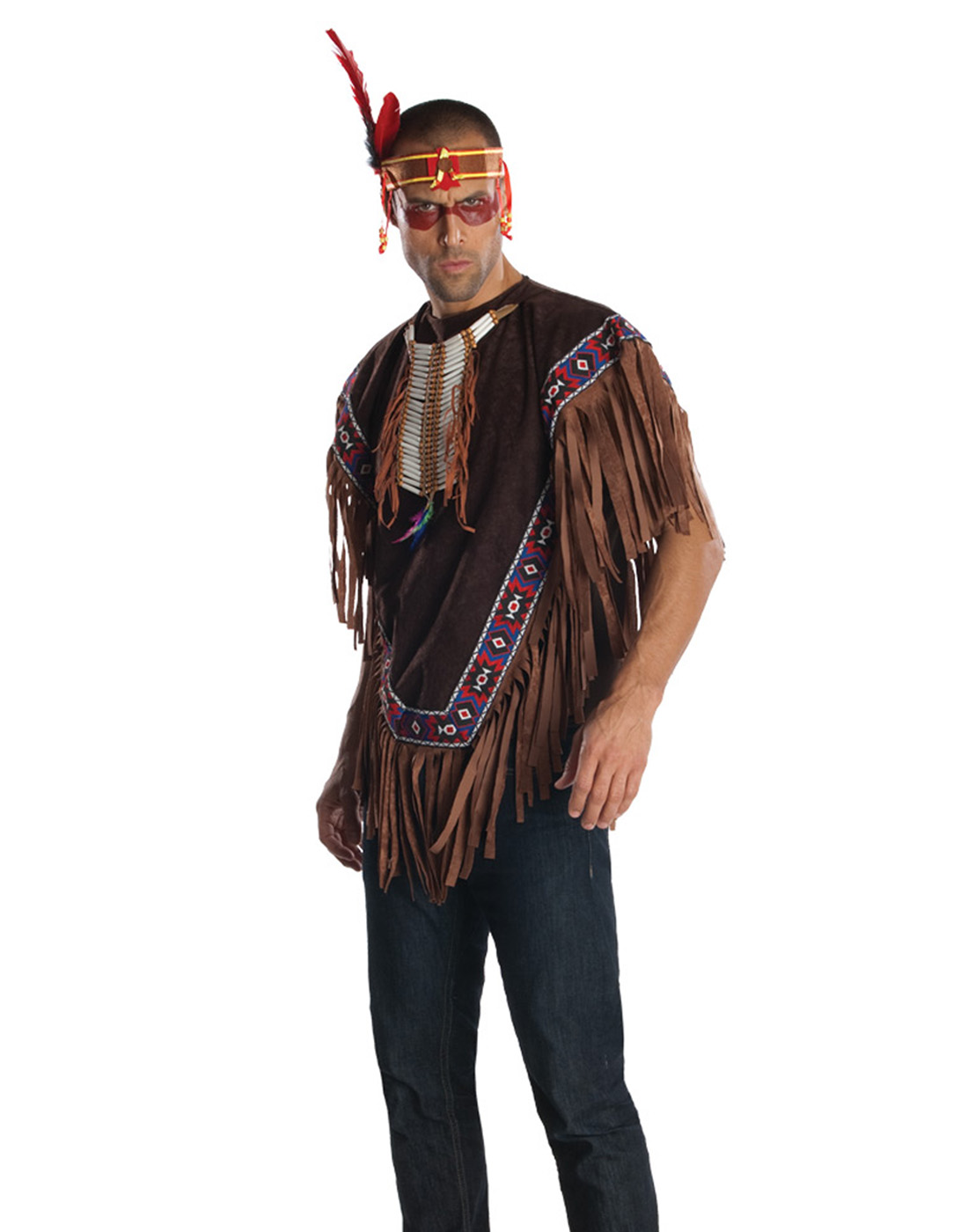 native american indian chief sitting bull king adult halloween
