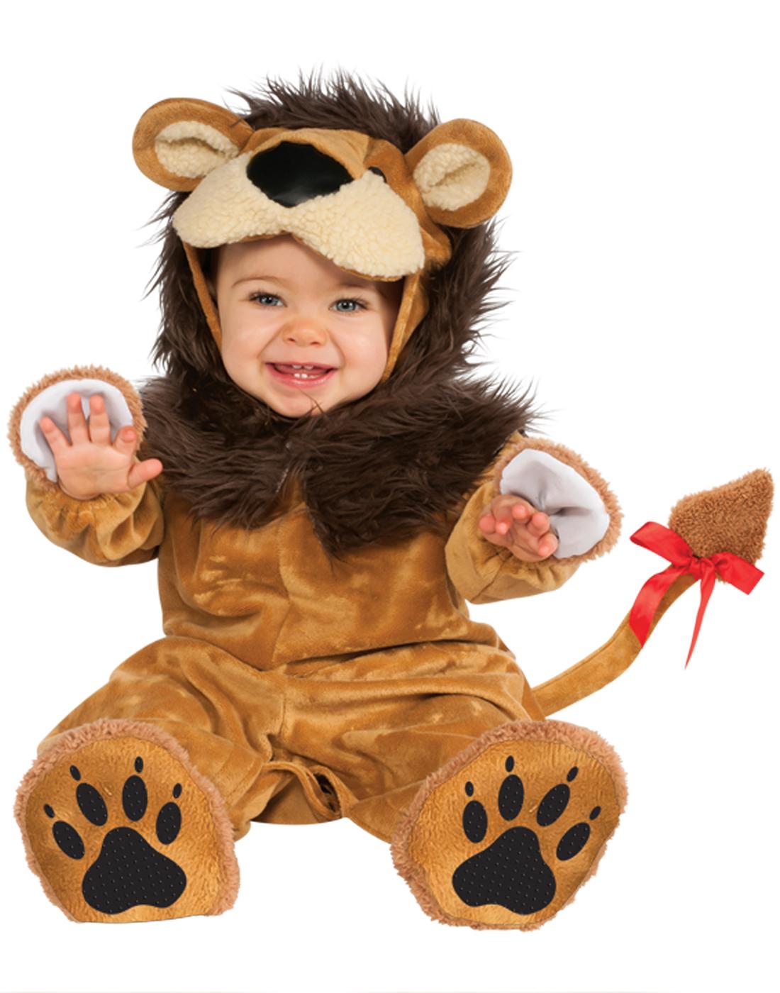 Infant Toddler Cuddly Lion Costume