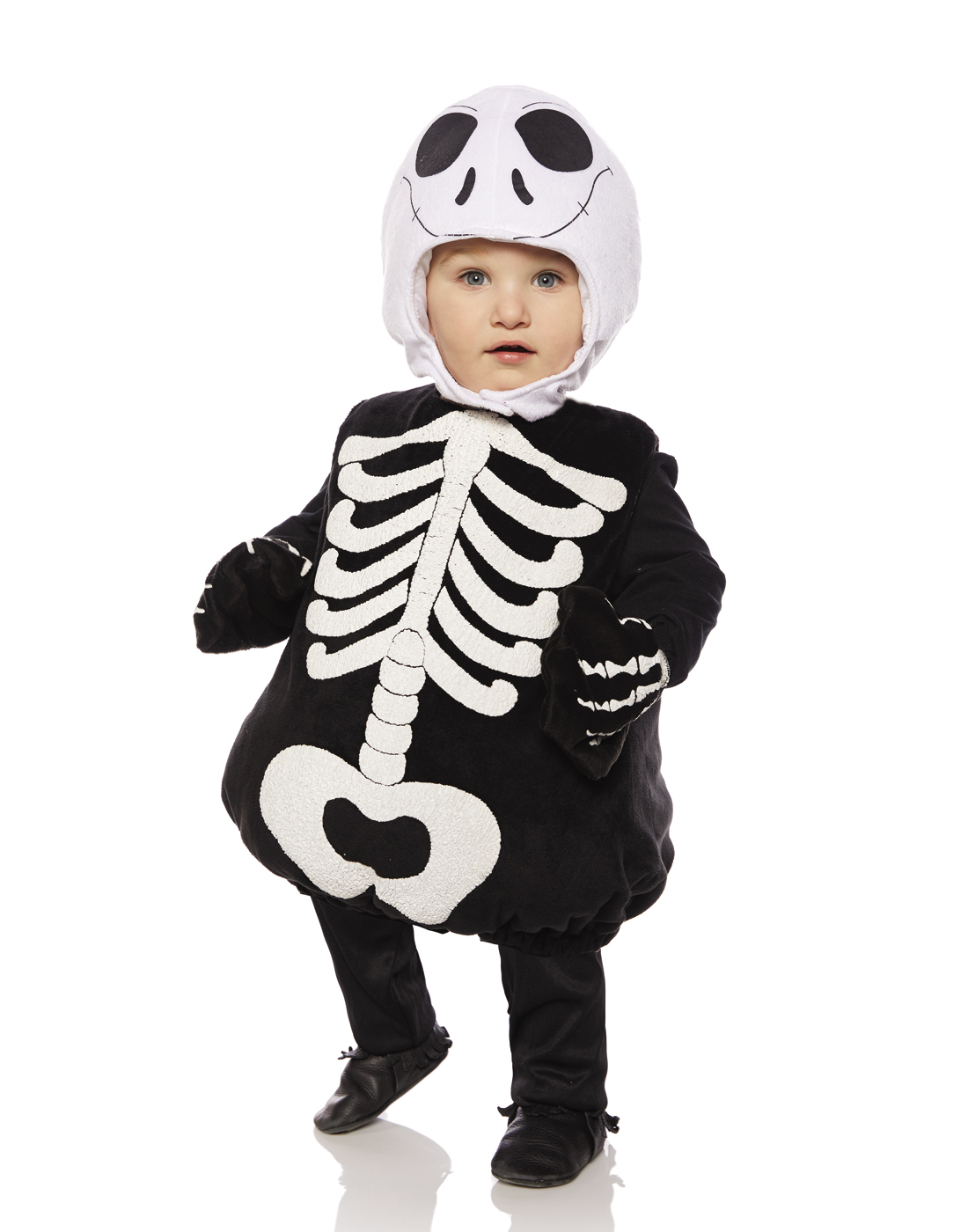 Colour Skeleton Infant Costume