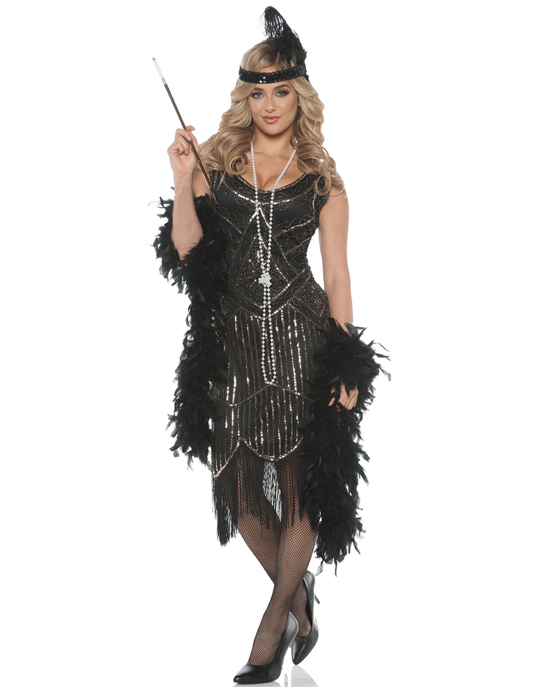 Daisy Buchanan Costume Adult The Great Gatsby Roaring 20s Halloween Fancy Dress