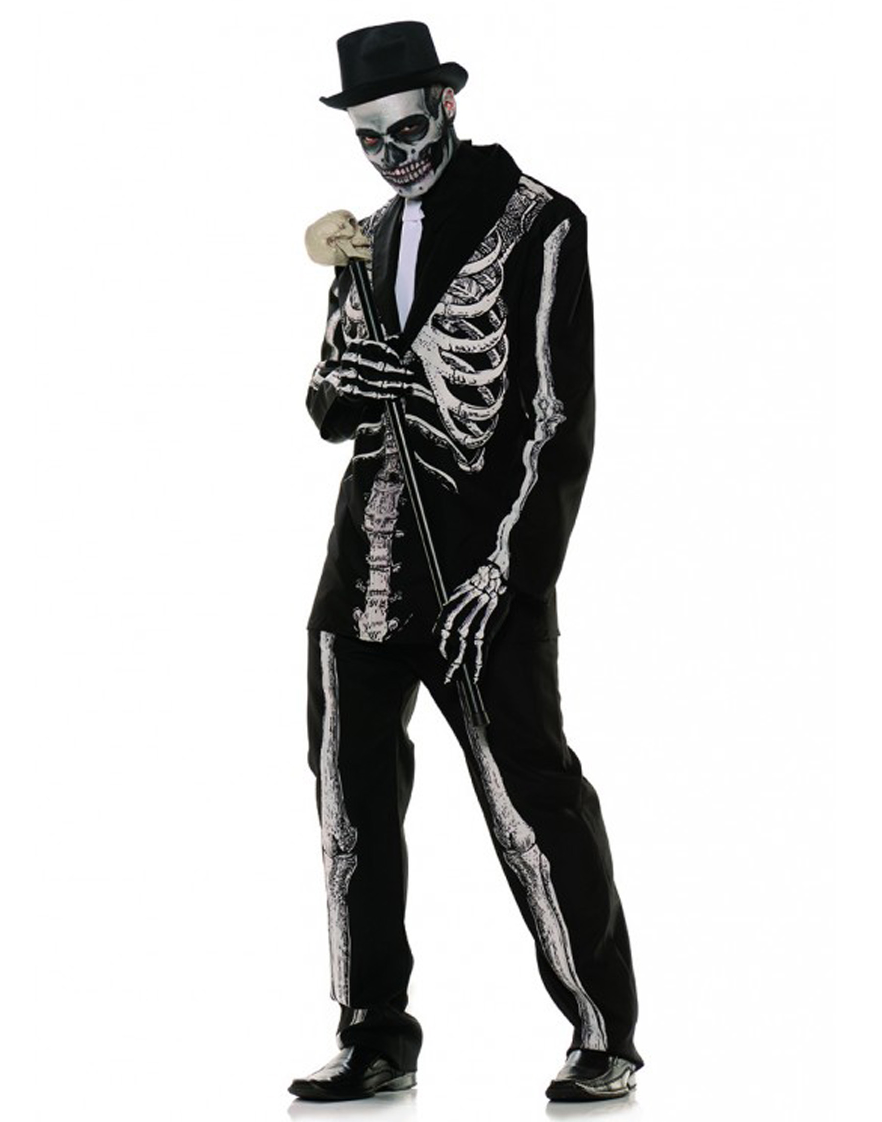 Bone Daddy Day Of The Dead Skeleton Adult Mens Halloween Costume Ebay