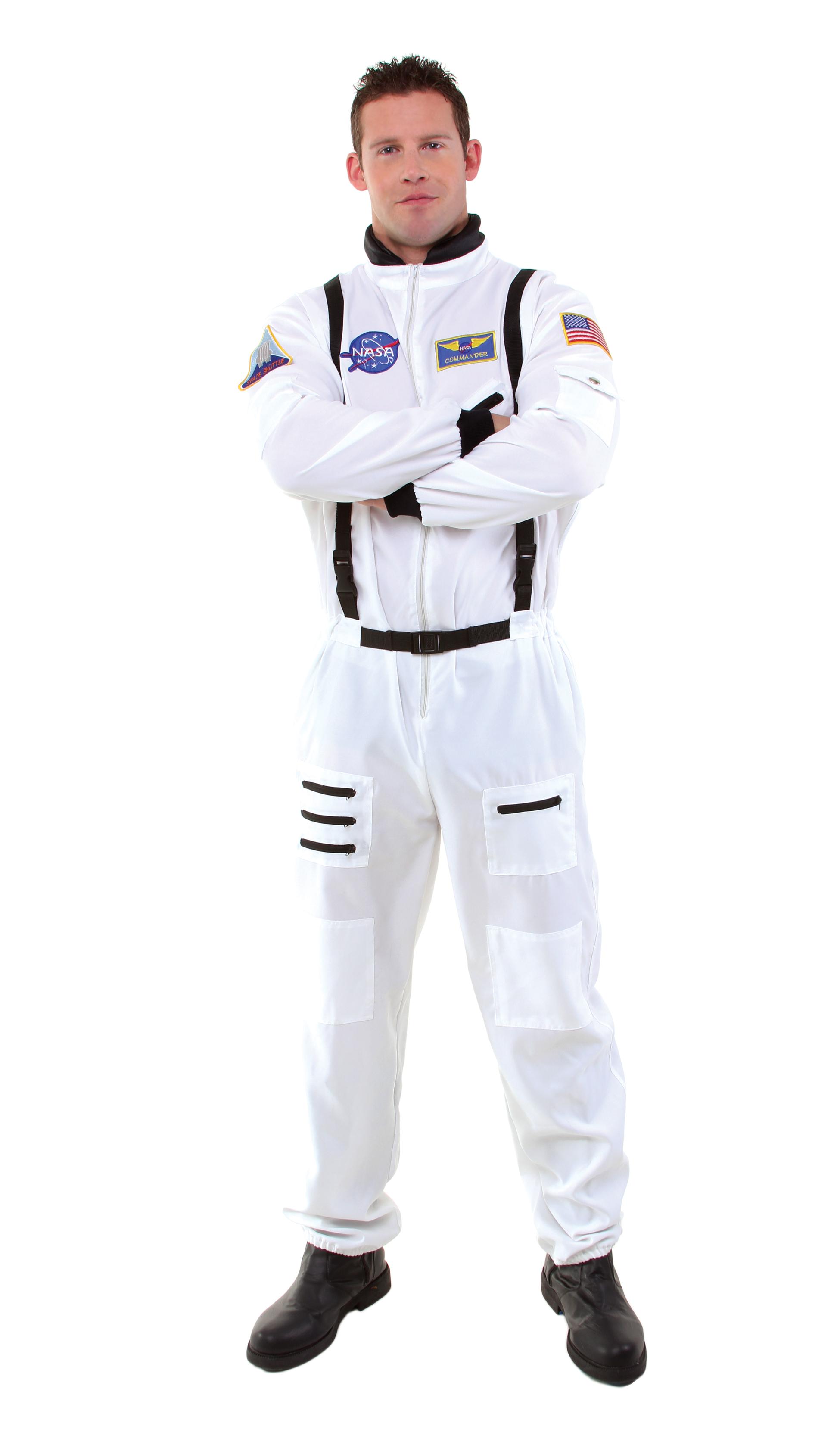 2d7dc019d377 Details about Mens Rocket Astronaut Space Men Adult Jumpsuit Bodysuit Halloween  Costume. Popular Item 1 ...