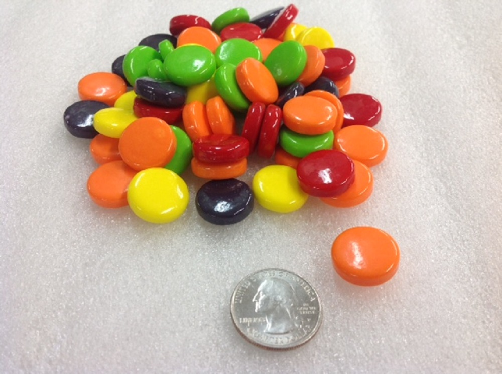 Christmas Sprees Candy Green Apple Red Cherry Unwrapped Bulk 5 Pounds