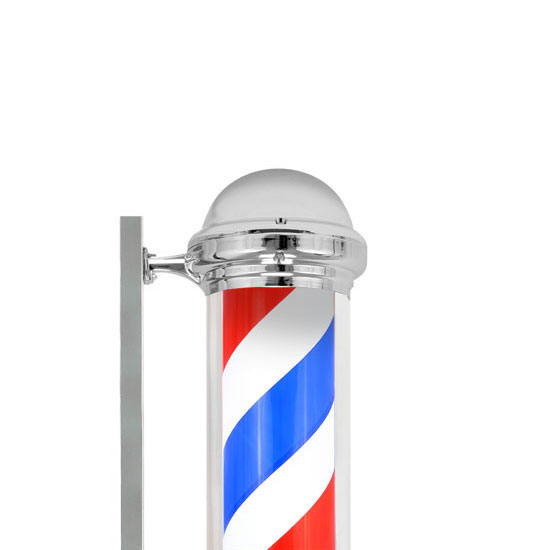 39 034 Barber Pole Light Red White Blue