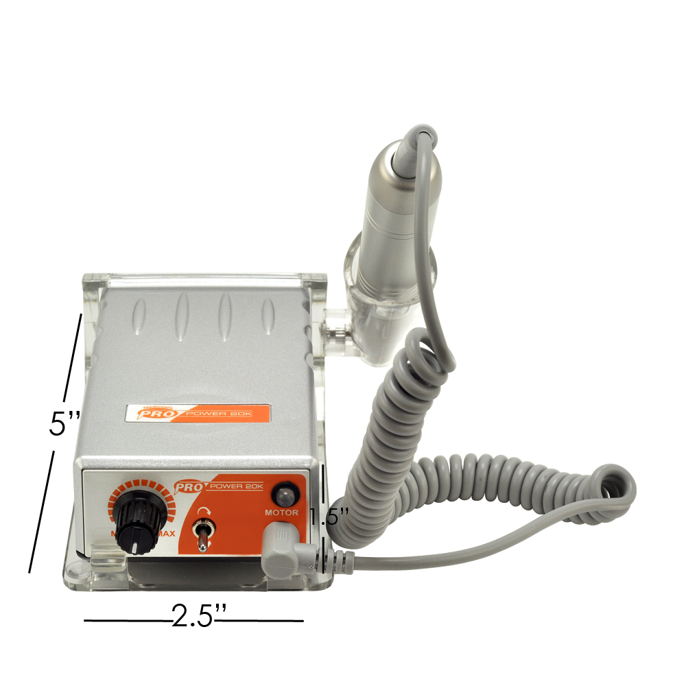 c6aea626333 Rechargeable PRO Power 20K Medicool Nail FILE Machine .